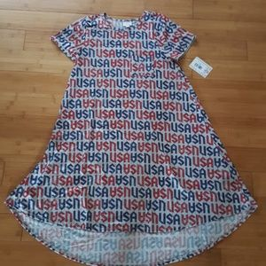 NWT LuLaRoe Carly Hi-Low swing dress USA
